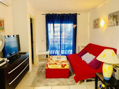 Photo for A865 - Nice apartment in an urbanization with pool, paddle and gym