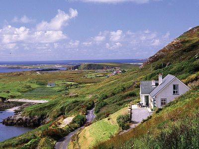 Photo for Detached bungalow facing south on Lower Sky road with stunning far reaching views over Clifden…