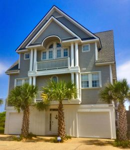 Photo for 4358 Island Dr Oceanfront 5BR, Internet, Hot Tub, Community Pool