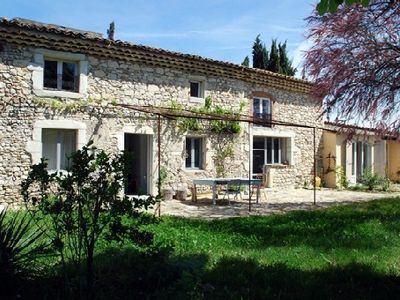 Photo for Le Manou in Drôme Provençale, independent house with garden, surrounded by nature.