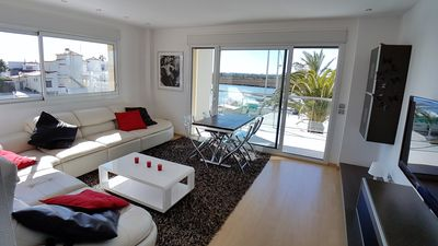 Photo for seaside apartment in Spain, in a private marina, residence luxueuse-