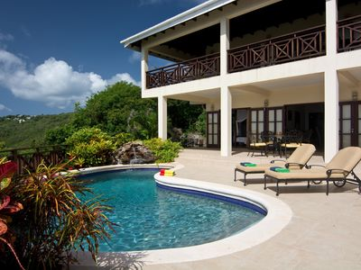 Photo for Private Luxury Vacation Villa In Lush Tropical Setting With Stunning Ocean Views