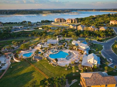 Photo for Luxury Casita at Hollows Resort, Panoramic Lake & Hill Country View