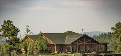 Photo for Luxury log home secluded on 20-acres yet only 4 miles from downtown