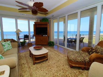 Photo for La Playa 303- Beach Front Views with Wrap-Around Terrace!