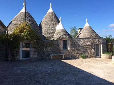 Photo for Beautiful Trullo and Villa set in picturesque countryside location
