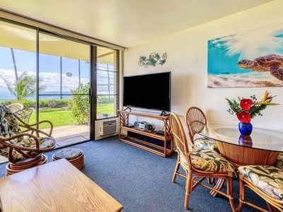 Photo for NEW LISTING!  OceanFRONT condo SEE TURTLES DAILY right out front.