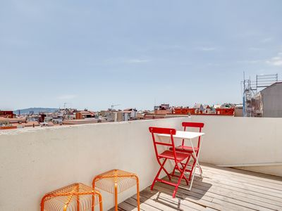 Photo for New 1bed with terrace close to Vallcarca metro