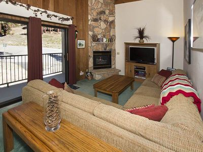 Photo for View the Ski Slopes While Enjoying the Comforts of this Cozy Condo.