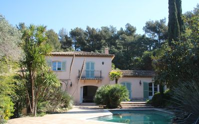 Photo for Villa, private domain of Cap Bénat, swimming pool, 12 persons, near the sea