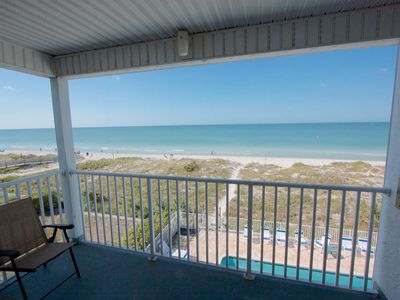 Photo for Beachfront, Private Elevator, Free Wi-Fi & Cable, Pool, BBQ, W/D, Covered Parking- Sea Isles #M
