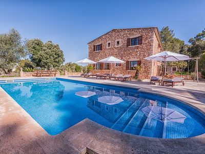 Photo for Unique Finca with Wifi, large Salt-Water Pool and Soccer Field for Children!