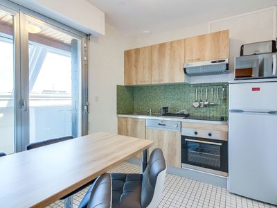 Photo for Cosy apartment for 3 people with WIFI, TV, balcony and parking