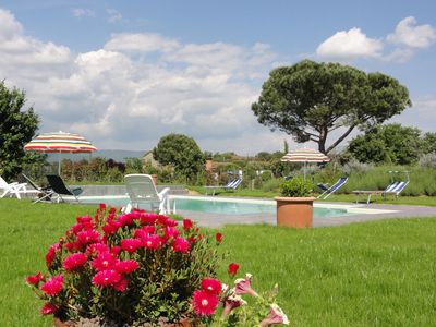 Photo for holiday home for 2/3 people in the Tuscan countryside a few km from Cortona