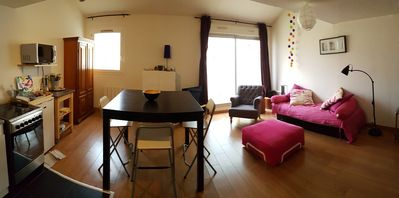 Photo for Quiet apartment duplex near the port of Sète, 2 rooms for 4 pers.