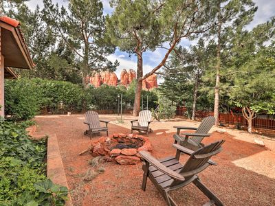 Photo for Modern W. Sedona Home w/ Patio+Red Rock Views