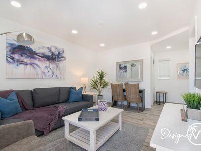 Photo for Lovely 1 BR w/Parking Space & Walk to the Beach #7