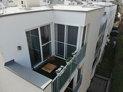 Photo for Charming and quiet roof apartment, next to VIC, UNO, Danube and U1