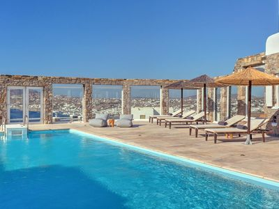 Photo for The luxurious, exquisite and artistic Villa Beniamin offers a unique, secluded setting overlooking t