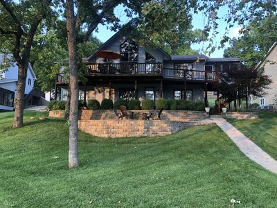 Photo for New listing! Cozy home right on the water.  Great for a family vacatio