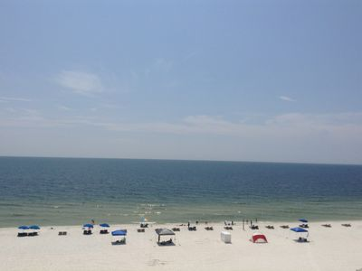 Photo for BEACHFRONT-SPARKLING CLEAN CONDO-OUTSIDE POOL-GREAT RATES-DOLPHINS PLAYING!!!!