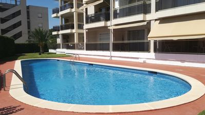 Photo for Golf St Jordi 7 apartment in Cambrils with WiFi, private parking, private terrace & lift.