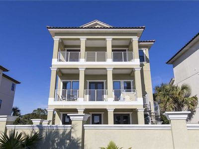Photo for Large / New Home - Gulf View - Santa Rosa Beach. Private Pool! Across from Beach