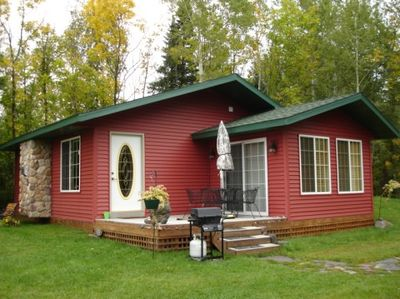 The Red Cabin on Caribou Lake