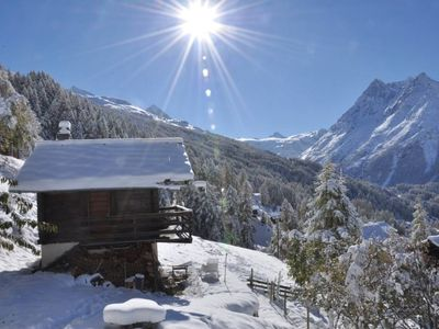 Photo for Magic chalet for 2 people - The Little Bear