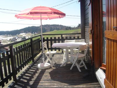 Photo for FALLING PRICE !!! Renting a beautiful and pleasant chalet in Lajoux