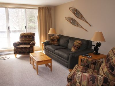 Photo for Premier Ski in Ski out Mountainside Condo - Pet Friendly