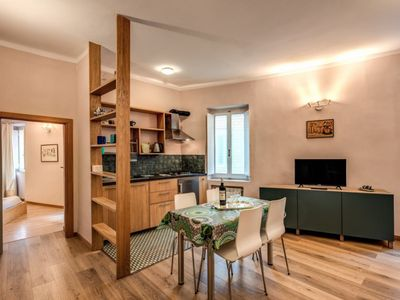 Photo for Pleasant apartment on Via dei Cappellari, a picturesque street  in the heart of historic center