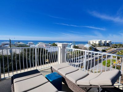 Photo for Unit 7 Summer Place/Prime Unit w/Gulf Views/Walk to it all/4 BR/4BA/Sleeps 12