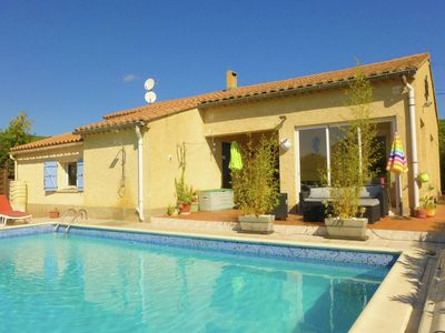 Photo for Lovely Holiday Home in Argeliers with Swimming Pool