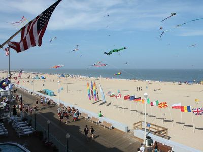 Photo for Oceanfront Boardwalk Condo! Great Views & WiFi - Near Dining, Shops & Amusements