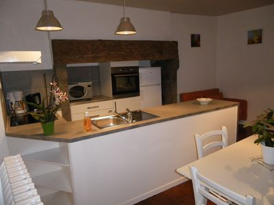Photo for Charming cottage near AURILLAC 45m2.