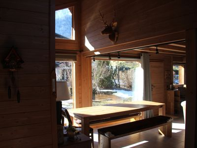 Photo for Chalet chamonix valley located a few minutes drive from Chamonix
