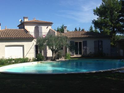 Photo for Beautiful villa with pool on the outskirts of Carcassonne