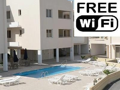 Photo for Pervolia Larnaca 2 Bed Apartment, FREE WIFI, Pool, Internet TV