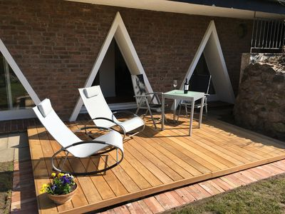 Photo for Aparte new apartment with terrace and sauna near the Baltic Sea