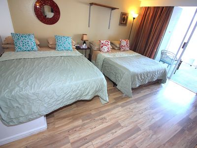 Photo for Centrally Located Top Floor Studio with Kitchenette & Free Beach Gear