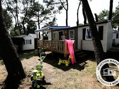 Photo for Camping Fort Espagnol **** - Maeva Camping - Mobile Home Jacinthe Confort 4 Rooms 6 Persons