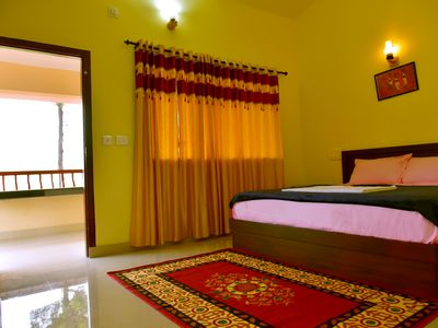Photo for Green Garden Two Deluxe Rooms - 1st Floor Two Bed rooms with Balcony