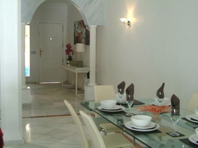 Photo for STUNNING TOWN HOUSE Three bedroom all ensuite bathrooms. Free WiFi huge terrace