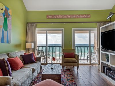 Photo for Aug 10-17 Open! Beachfront~2 K Mstrs~Sleeps 10 in Beds~Pool~Free Beach Service