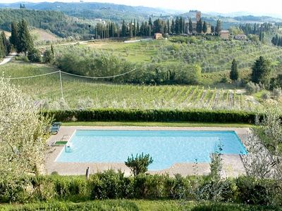 Photo for One bedroom Villa, sleeps 2 in San Martino a Maiano with Pool, Air Con and WiFi