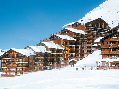 Photo for One bedroom Apartment, sleeps 4 in Val Thorens with WiFi