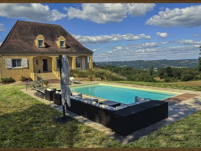 Photo for LUXURY VILLA entirely renovated, private heated pool