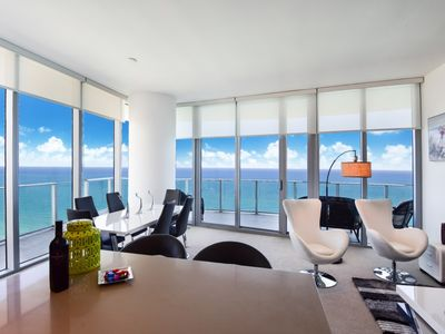 Photo for OCEAN FRONT LOWER PENTHOUSE, STUNNING VIEWS LARANA