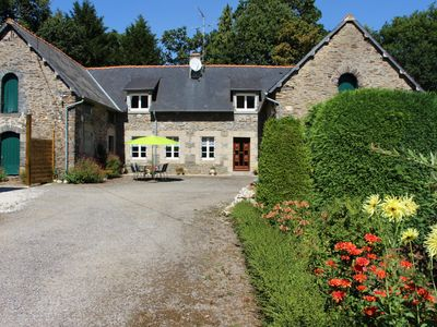 Photo for 2BR Cottage Vacation Rental in Guerlédan, Bretagne